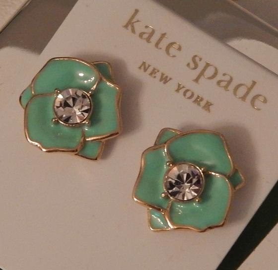 kate spade green petals