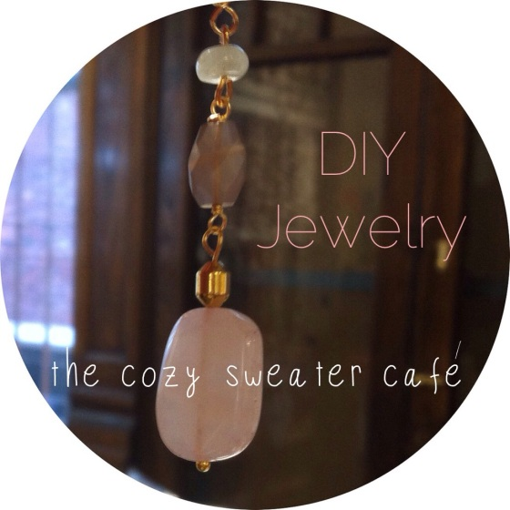 DIY cozy sweater cafe