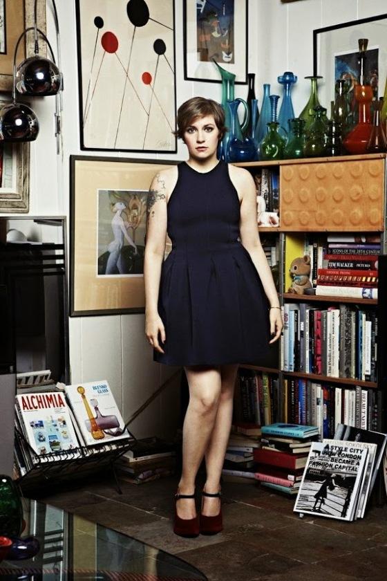 Lena Dunham salon