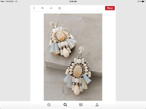 earrings anthropologie