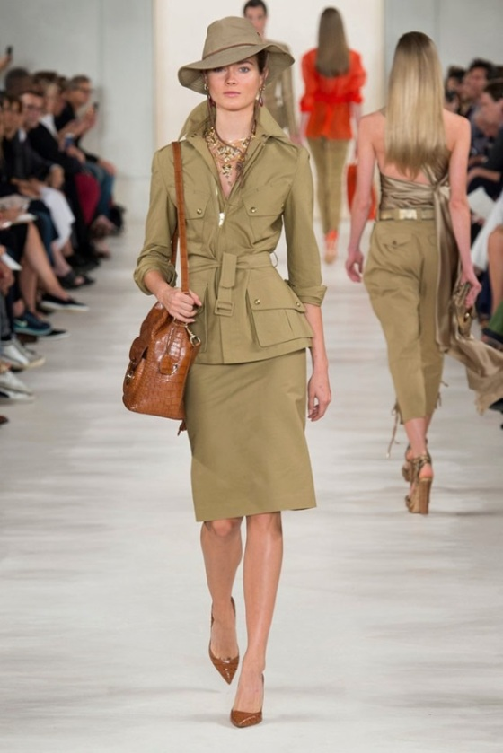 style.com ralph lauren with hat