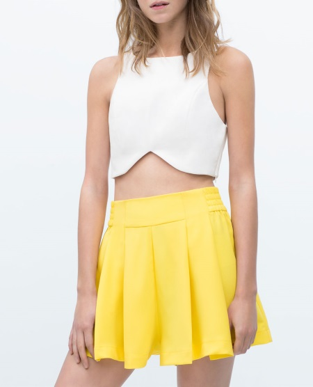 zara yellow