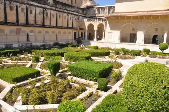 Amber Palace Gardens India 2