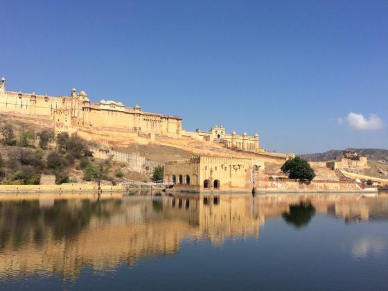 Amber Palace India reflections