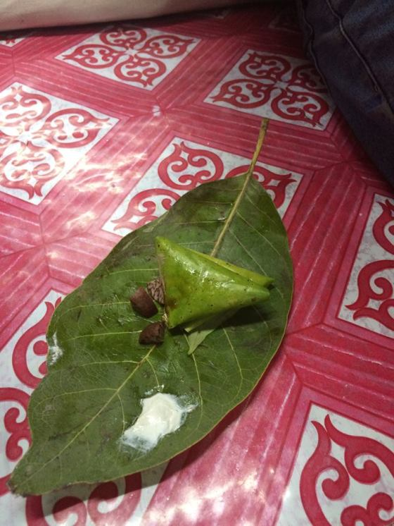 Betel Nut sold as shown all over the streets