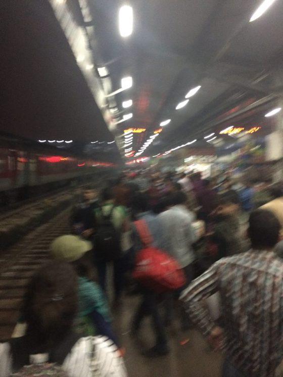 Dehli Train Station