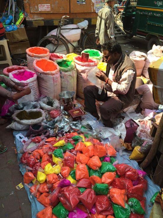 Delhi preparing for Holi
