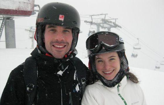 Martin Villeneuve and Caroline Dhavernas © Whistler Film Festival, 2012